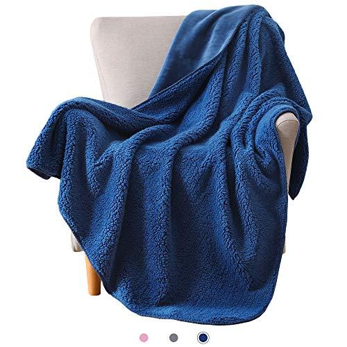 Sherpa Thermal (Kawahoney Sherpa-Fleece-Decke, superweich, warm, flauschig, flauschig, dick, luxuriös, antistatisch, hypoallergen, für Couch Sofa, Bett, Geschenk Travel/Throw(50