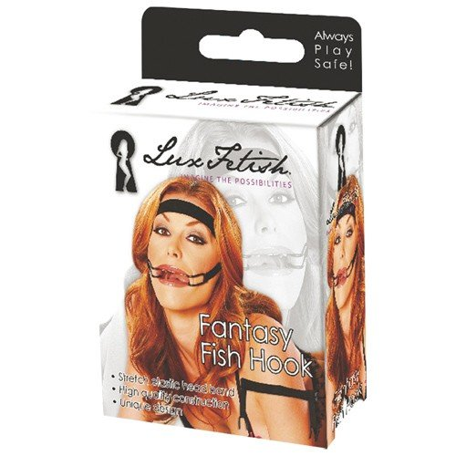 Electric Lingerie Lux Fetish Fantasy Fish Hook -