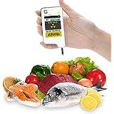 GREENTEST alta precisión Nitrato Tester para carne congeladores, fruta, verduras & detector de radiactividad (contador Geiger, Dosímetro de bolsillo)