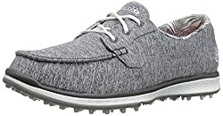 Skechers Performance Womens Go Golf Elite 2 Stellar Golf Shoe, Gray, 6.5 M US