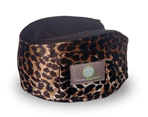 Embrace Sleep Collar Travel Pillow - Leopard