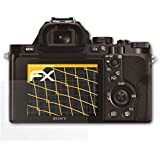 3 x atFoliX Protecteur d'écran Sony Alpha a7 & a7R & a7S (ILCE-7 / ILCE-7R / ILCE-7S) Film Protection d'écran - FX-Antireflex anti-reflet