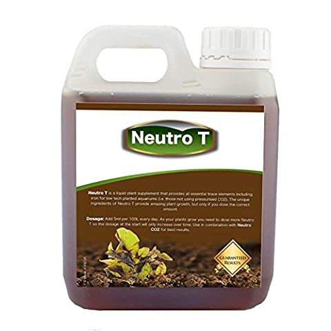 Neutro T - Liquid Aquarium Fertiliser for all Planted Tanks | Fast Acting | Economical | Effective | Gets Results Fast
