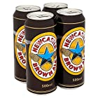 Newcastle Brown Brown Ale Can, 4 x 500 ml