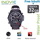 Inovics Smart Eye HD Wrist Watch Spy Camera with 16 GB Inbuilt Memory