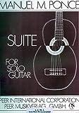 Suite pour guitare de Manuel M Ponce