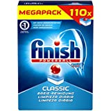 Calgonit Finish classic, tablettes lave-vaisselle, Mega Pack de 110tablettes