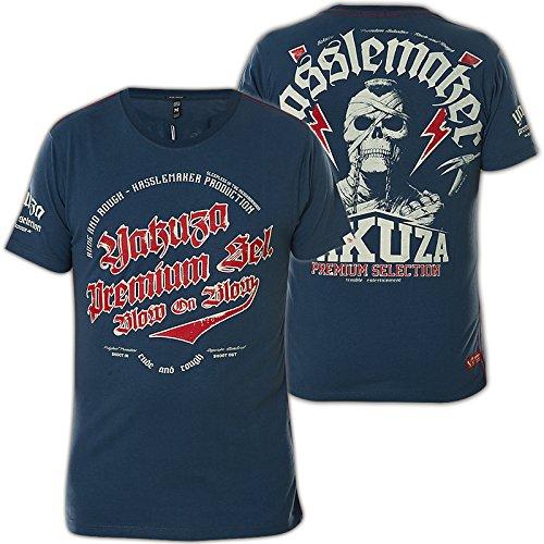 Yakuza Premium T-Shirt YPS-2119 Blau Blau