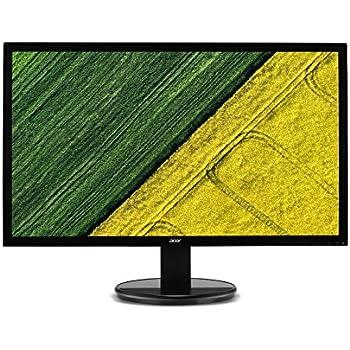 """Acer K242HL - Monitor LED de 24"""" (1080p, 5ms, VGA, DVI, HDCP, fuente alimentación integrada, soporte VESA), negro"""