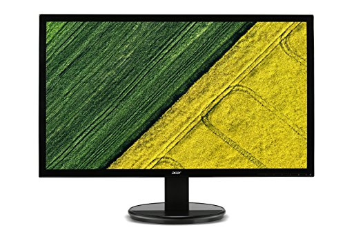 Acer K242HLbd 24 inch Widescreen FHD LED Monitor (5 ms, 100 M:1, ACM 250 Nits, LED, DVI with the help of HDCP) - Black UK
