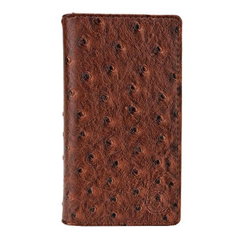 J Cover Croc Series Cover Leather Pouch Flip Case For Lenovo Vibe X3 (, 32GB) Light Brown
