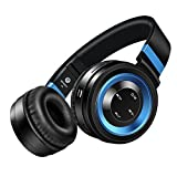 Wireless Headphones, Sound Intone P6 Stereo Bluetooth Headphones with Microphone Over-ear Foldable Portable