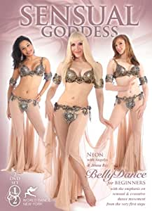 Sensual Goddess - Belly Dance for Total Beginners, with Neon: Belly dancing classes and complete bellydance how-to in a four-hour, TWO-DVD set, all non-stop movement with music [DVD] [All Regions] [NTSC] [WIDESCREEN] [2012]