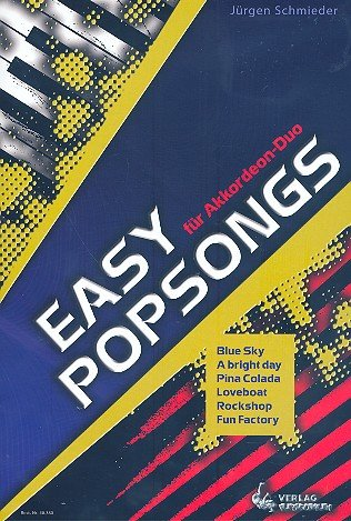 Easy Popsongs: für 2 Akkordeons