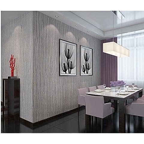 Papel pintado Papel pintado gris oscuro de la película no tejida el papel pintado salón de pared decoración interior dormitorio chino , Gray purple