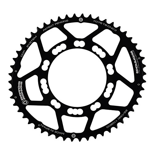 rotor Q-Ring Road Kettenblatt 110mm 5-Arm außen schwarz Ausführung 50 Zähne 2018 Kettenblätter
