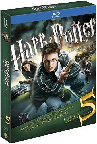 Harry Potter Y La Orden Del Fénix. Nueva Edición Con Libro Blu-Ray [Blu-ray]