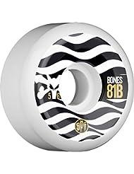 Bones Eighty Ones 81b Skatepark Formula Wheels White 56mm