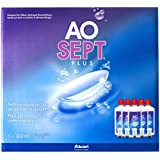 Aosept Plus Pflegemittel für weiche Kontaktlinsen, Sparpack (5 x 360 ml)
