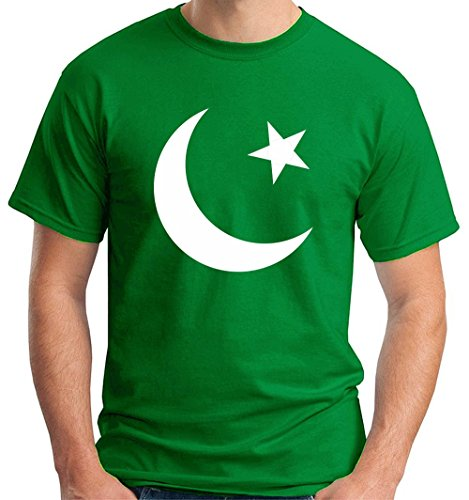 T-shirt TM0190 flag of Pakistan flag, Taglia small