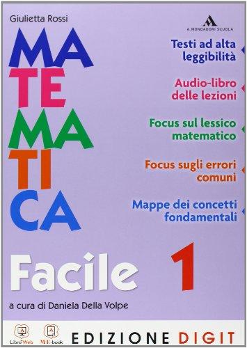 Matematica Traguardi e competenze - Matematica facile 1