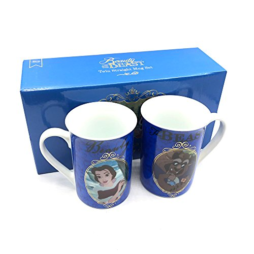 Beauty & The Beast Disney Becher Geschenk Set Box -