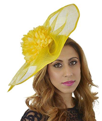 Superbe mandhoo Grand Ascot Derby Bibi Chapeau–avec bandeau–Disponible en 30couleurs Violet - Lilas