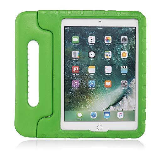 Preisvergleich Produktbild Brand.it Learn.it Kinder iPad Hülle stossfest passend für iPad Air 2 / Air 1 / ipad 9.7 2017 2018 5. 6. Generation Eva Schaum Schutzhülle Kinderhülle Kinderschutzhülle grün