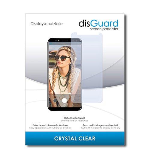 disGuard® Bildschirmschutzfolie [Crystal Clear] kompatibel mit M-Horse Pure 3 [2 Stück] Kristallklar, Transparent, Unsichtbar, Extrem Kratzfest, Anti-Fingerabdruck - Panzerglas Folie, Schutzfolie