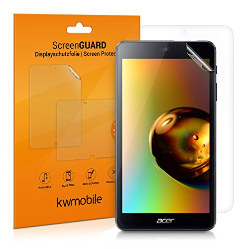 kwmobile 2X Acer Iconia One 7 (B1-790) Folie - Full Screen Tablet Schutzfolie für Acer Iconia One 7 (B1-790) klar