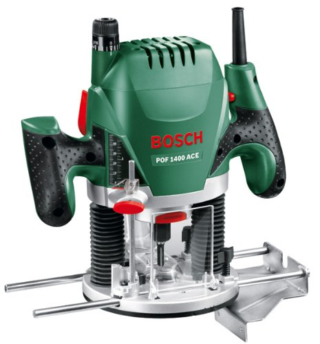 The Bosch POF 1400 ACE Router is a very good quality router which has been made incredibly well and efficiently.
