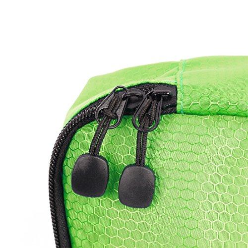 sourcingmap® 3stk. Grün Wasser Beständig Kleidung Taschen Verpackung Reise Veranstalter
