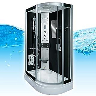 AcquaVapore DTP8060-7300R Dusche Duschtempel Komplett Duschkabine 80x120, EasyClean Versiegelung der Scheiben:Nein! +0.-EUR