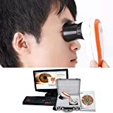 Emperor of Gadgets - Iriscopio, 5.0MP, alta resolución, CCD, USB, incluye 30 lentes de iris...