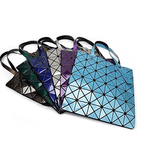 Diamantförmige Geometrische Verpackung Rubik's Cube Schultertasche Portable Big Bag Blue