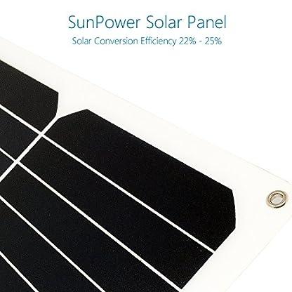 51fTmvGda2L. SS416  - Giaride Cargador Solar Sunpower Panel Módulo Solar de 12V Baterías Cargador de Coche Portátil Fotovoltaico para Coches, Caravana, Moto, Bote, Barco