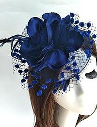 bmjqs–/tul/gasa de mujer headpiece-wedding/ocasión especial tocados 1pieza, azul