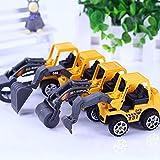 Zurück ziehen Fahrzeuge, 10 (zufällige Stil) sortiert Konstruktion Fahrzeuge und 3 Auto Spielzeug, moonvvin Truck Mini Auto Spielzeug für Kinder Kleinkind Jungen, Pull Back und Go Car Toy Play Set
