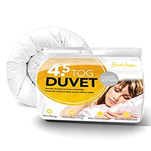 Sarah Jayne Luxury Soft Anti-Allergy Duvet, 4.5 Tog