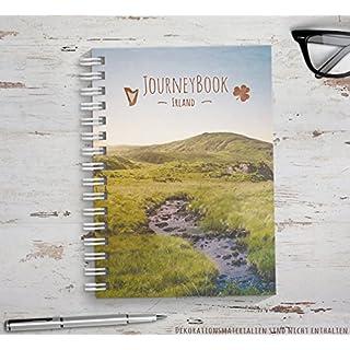 Reisetagebuch Irland zum selberschreiben / als Abschiedsgeschenk