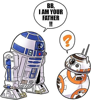 T-Shirt Geek - Parodie Star Wars - BB, I am your father (VO) - T-shirt Homme Noir - Haute Qualité (862)