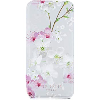 bd4175327 Ted Baker SS17 Folio Style Case for Apple iPhone 8 7 - Fashion Mirror Case  for Professional Women Pretty Flower Floral Print - BROOK - Oriental Blossom