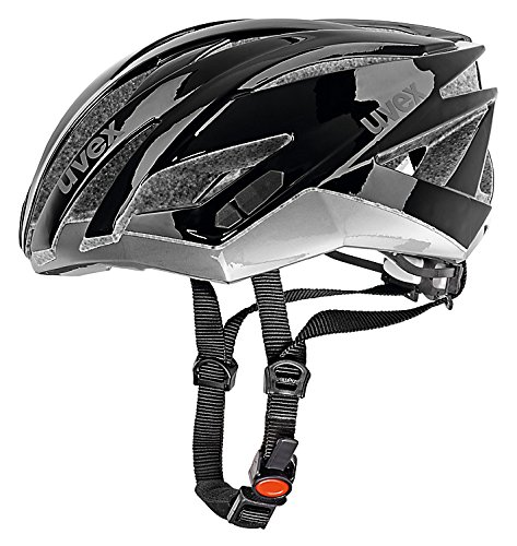 Uvex Ultrasonic Race - Casco de ciclismo multicolor black-dark silver Talla:58-62 cm