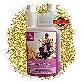EMMA Magnesium Vitamin B12 fürs Pferd - Pferdefutter I Calm für Pferde I flüssiges Ergänzungsfutter für die Nerven, bei Stress I für Gelassenheit I mit L-Tryptophan I Beruhigung 1 Liter