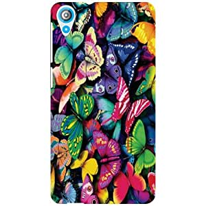 HTC Desire 820 Back cover - Butterfly Designer Cases