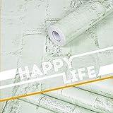 lsaiyy Papier Peint imperméable en PVC Papier Peint de Cuisine Autocollant Papier...
