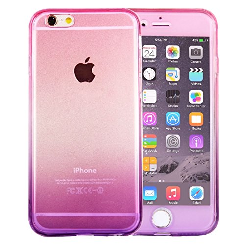 Pour iPhone 6 Plus / 6s Plus, recto-verso recto-verso de protection TPU JING ( SKU : Ip6p0763mp ) Ip6p0763mp