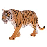 #10: NF&E Realistic Wild Animal Models Figure Siberian Tiger Action Educational Games Home Decoration Yellow Royal Table
