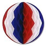 Beistle 55614 Rwb 12 Pack Tissue Balls, ...