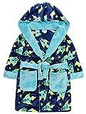 minikidz garçons ROCKET envoi Robe de chambre 2-3y ans jusque 5-6y Magnifique peluche molle polaire - Multicolore, 4-5 Ans